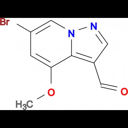 6-Bromo-4-methoxypyrazolo[1,5-a]pyridine-3-carbaldehyde