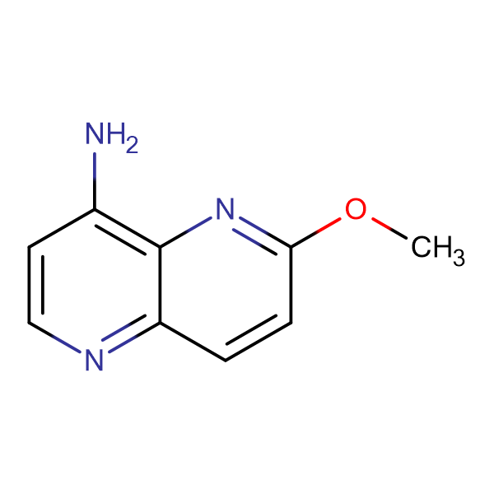6-Methoxy-1,5-naphthyridin-4-amine