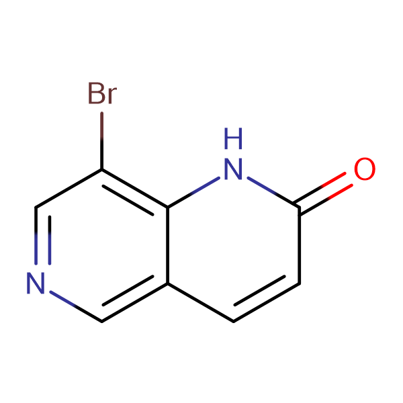 8-Bromo-1,6-naphthyridin-2(1H)-one