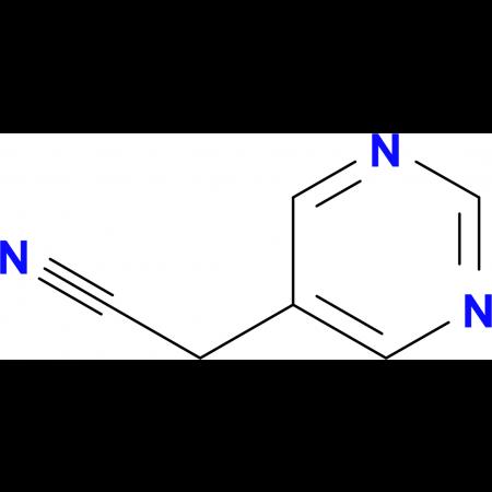 2-(Pyrimidin-5-yl)acetonitrile