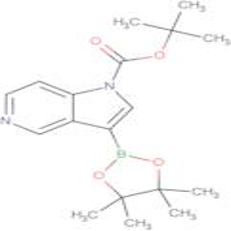 tert-Butyl 3-(4,4,5,5-tetramethyl-1,3,2-dioxaborolan-2-yl)-1H-pyrrolo[3,2-c]pyridine-1-carboxylate