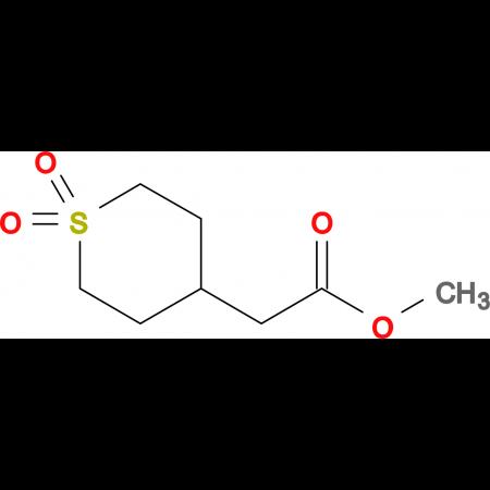 Methyl 2-(1,1-dioxidotetrahydro-2H-thiopyran-4-yl)acetate