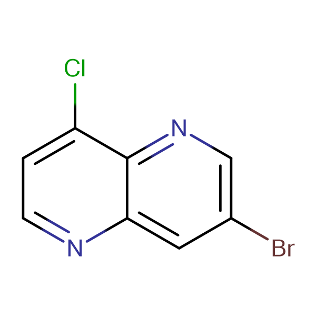3-Bromo-8-chloro-1,5-naphthyridine
