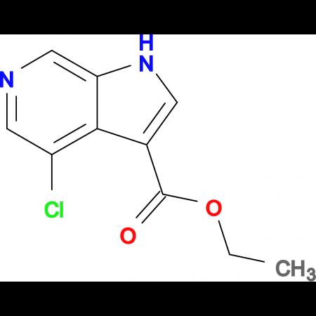 Ethyl 4-chloro-1H-pyrrolo[2,3-c]pyridine-3-carboxylate