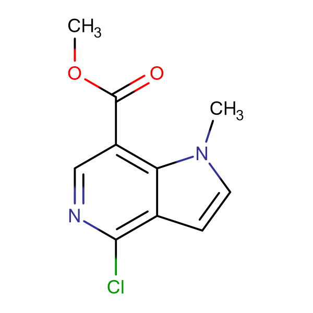 Methyl 4-chloro-1-methyl-1H-pyrrolo[3,2-c]pyridine-7-carboxylate