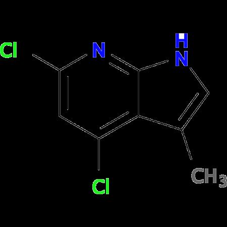 4,6-Dichloro-3-methyl-1H-pyrrolo[2,3-b]pyridine