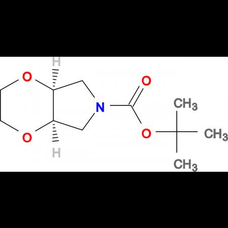 (4aR,7aS)-tert-Butyl tetrahydro-2H-[1,4]dioxino[2,3-c]pyrrole-6(3H)-carboxylate