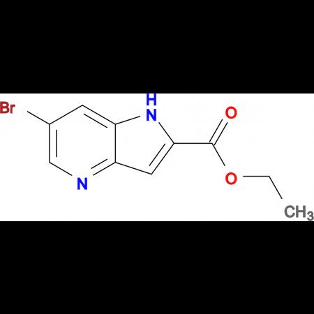 ETHYL 6-BROMO-4-AZAINDOLE-2-CARBOXYLATE