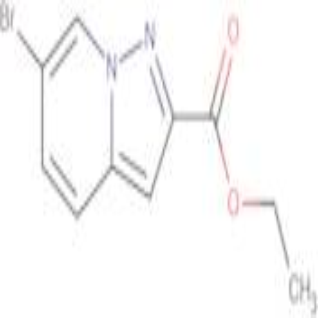 ETHYL 6-BROMOPYRAZOLO[1,5-A]PYRIDINE-2-CARBOXYLATE