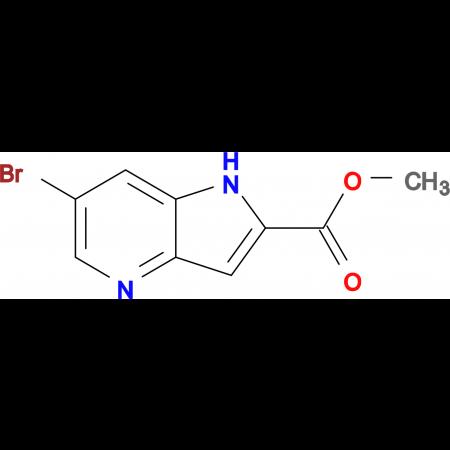 METHYL 6-BROMO-1H-PYRROLO[3,2-B]PYRIDINE-2-CARBOXYLATE