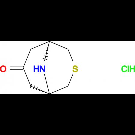 3-THIA-9-AZABICYCLO[3.3.1]NONAN-7-ONE HCL