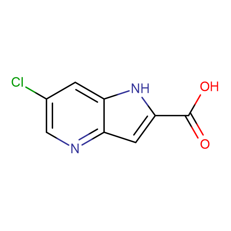 6-CHLORO-1H-PYRROLO[3,2-B]PYRIDINE-2-CARBOXYLIC ACID