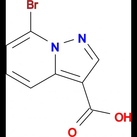 7-BROMO-PYRAZOLO[1,5-A]PYRIDINE-3-CARBOXYLIC ACID