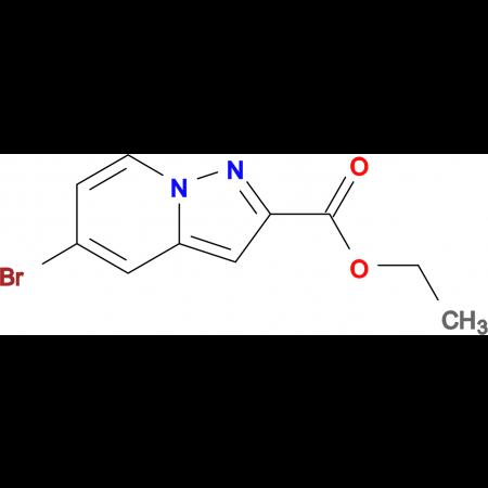 ETHYL 5-BROMOPYRAZOLO[1,5-A]PYRIDINE-2-CARBOXYLATE