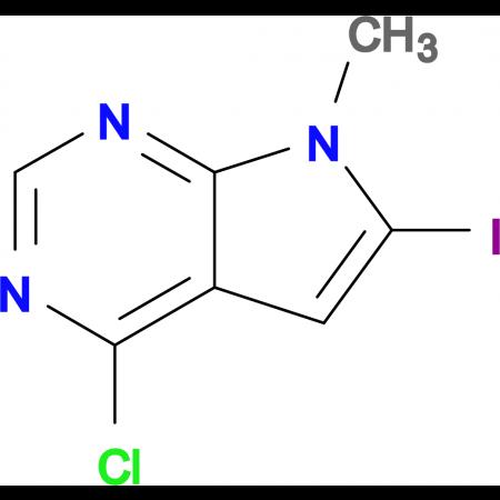 4-CHLORO-6-IODO-7-METHYL-7H-PYRROLO[2,3-D]PYRIMIDINE