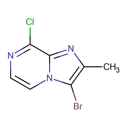 3-BROMO-8-CHLORO-2-METHYLIMIDAZOL[1,2-A]PYRAZINE