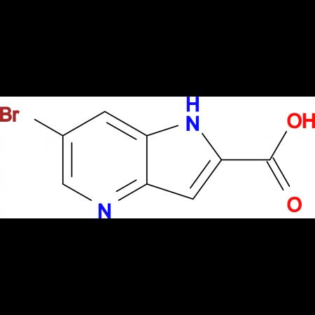 6-BROMO-1H-PYRROLO[3,2-B]PYRIDINE-2-CARBOXYLIC ACID