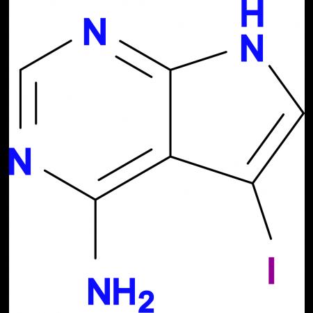 4-Amino-5-iodopyrrolo[2,3-d]pyrimidine