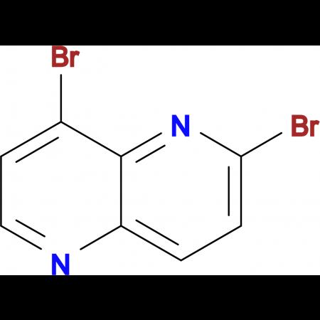 2,8-BROMO-1,5-NAPHTHYRIDINE