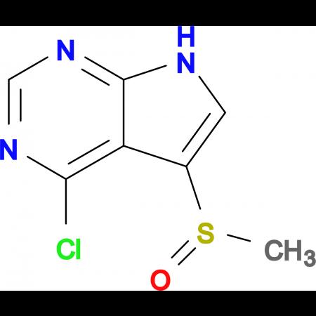 4-CHLORO-5-(METHYLSULFINYL)-7H-PYRROLO[2,3-D]PYRIMIDINE