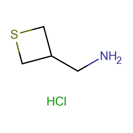3-THIETANEMETHANAMINE HCL