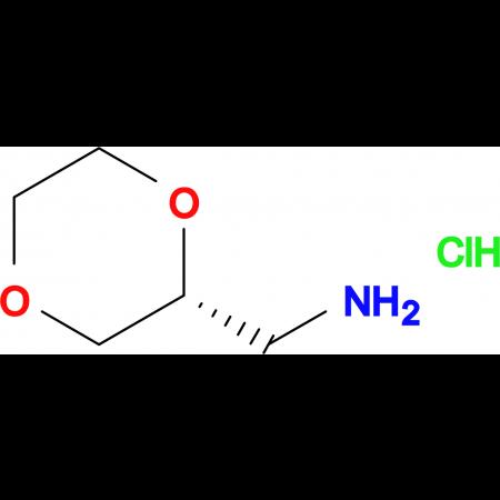 (2R)-1,4-Dioxane-2-methanamine hydrochloride