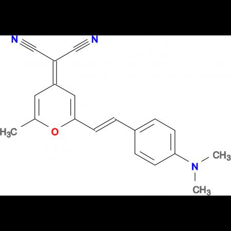 (E)-2-(2-(4-(DIMETHYLAMINO)STYRYL)-6-METHYL-4H-PYRAN-4-YLIDENE)MALONONITRILE