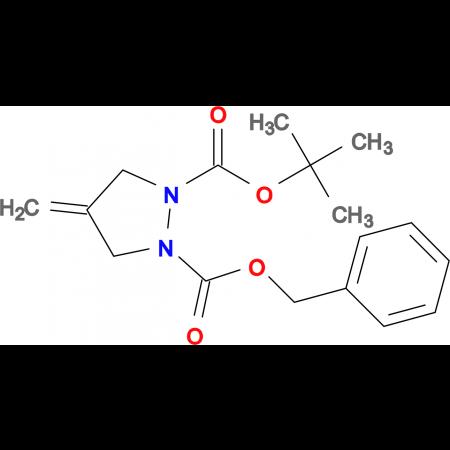 1-BOC-2-CBZ-4-METHYLENE-PYRAZOLIDINE