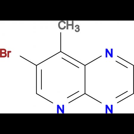 7-BROMO-8-METHYLPYRIDO[2,3-B]PYRAZINE