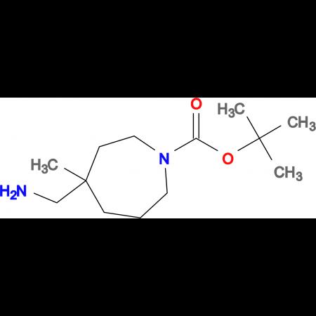 TERT-BUTYL 4-(AMINOMETHYL)-4-METHYLAZEPANE-1-CARBOXYLATE