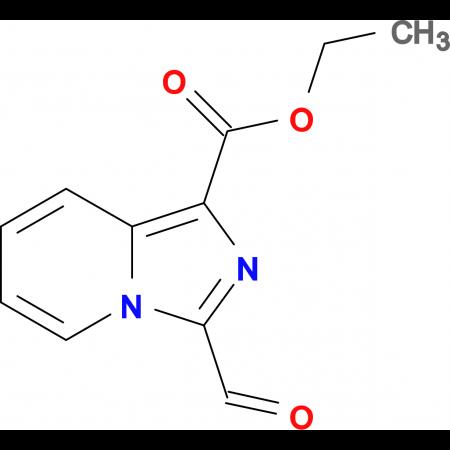 ETHYL 3-FORMYLIMIDAZO[1,5-A]PYRIDINE-1-CARBOXYLATE