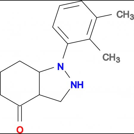 1-(2,3-DIMETHYLPHENYL)HEXAHYDRO-1H-INDAZOL-4(2H)-ONE