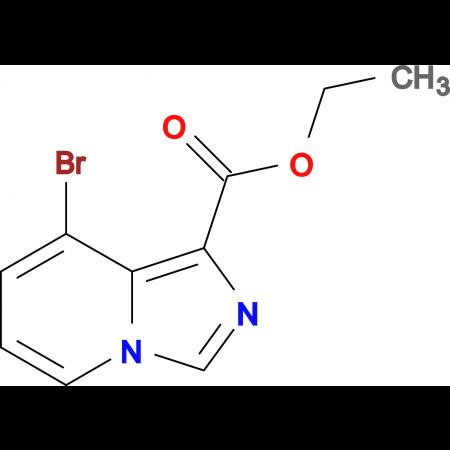 ETHYL 8-BROMOIMIDAZO[1,5-A]PYRIDINE-1-CARBOXYLATE
