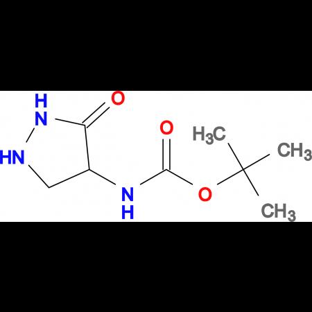 TERT-BUTYL 3-OXOPYRAZOLIDIN-4-YLCARBAMATE