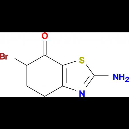 2-AMINO-6-BROMO-5,6-DIHYDRO-4H-BENZOTHIAZOL-7-ONE