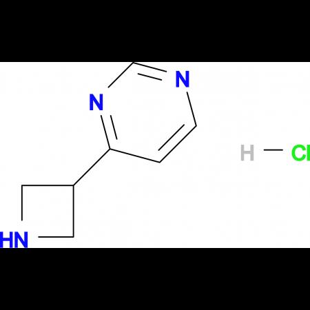 4-AZETIDIN-3-YL-PYRIMIDINE HCL