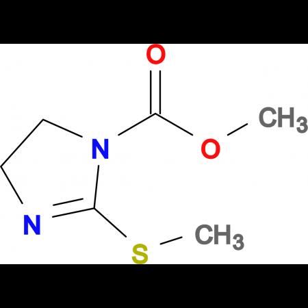 4,5-DIHYDRO-2-(METHYLTHIO)-1H-IMIDAZOLE-1-CARBOXYLIC ACID METHYL ESTER