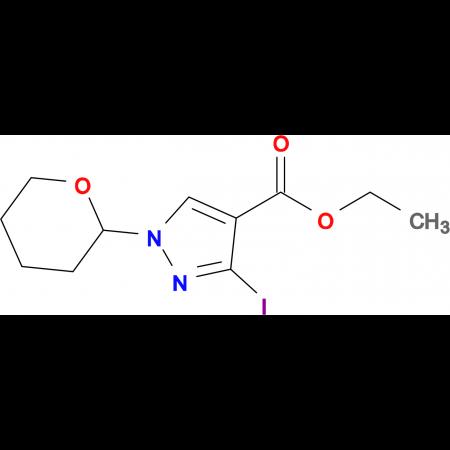 ETHYL 3-IODO-1-(TETRAHYDRO-2H-PYRAN-2-YL)-1H-PYRAZOLE-4-CARBOXYLATE