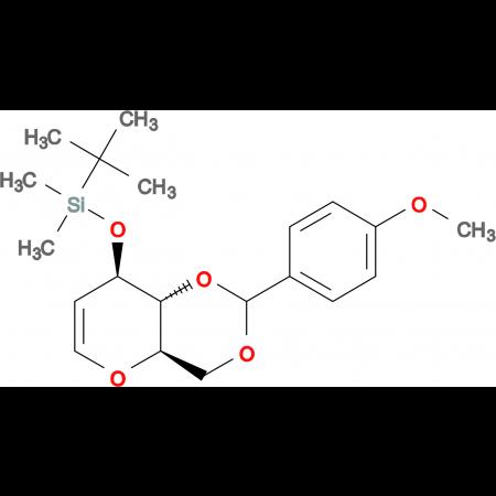 3-O-TERT-BUTYLDIMETHYLSILYL-4,6-O-(4-METHOXYBENZYLIDENE)-D-GLUCAL