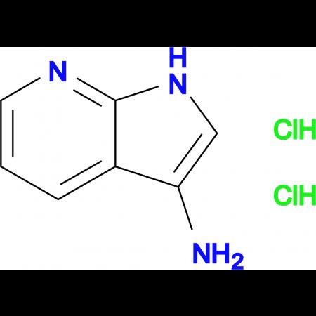 1H-PYRROLO[2,3-B]PYRIDIN-3-AMINE 2HCL