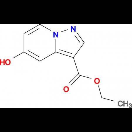 ETHYL 5-HYDROXYH-PYRAZOLO[1,5-A]PYRIDINE-3-CARBOXYLATE