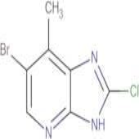 6-BROMO-2-CHLORO-7-METHYL-3H-IMIDAZO[4,5-B]PYRIDINE