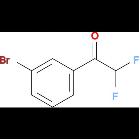 1-(3-BROMOPHENYL)-2,2-DIFLUOROETHANONE