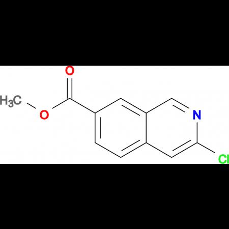 METHYL 3-CHLOROISOQUINOLINE-7-CARBOXYLATE