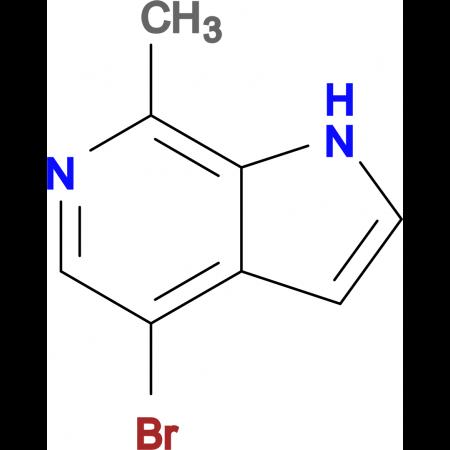 4-BROMO-7-METHYL-1H-PYRROLO[2,3-C]PYRIDINE