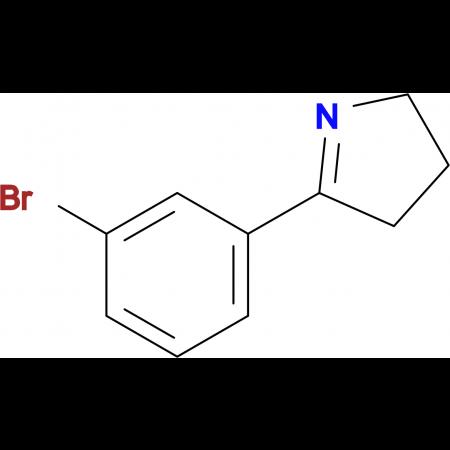 5-(3-BROMOPHENYL)-3,4-DIHYDRO-2H-PYRROLE