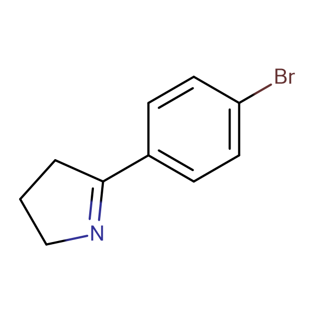 5-(4-BROMOPHENYL)-3,4-DIHYDRO-2H-PYRROLE
