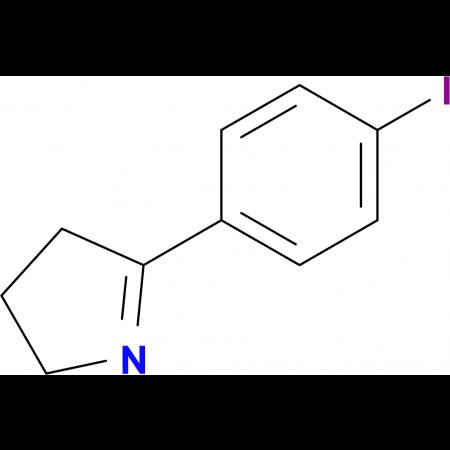 3,4-DIHYDRO-5-(4-IODOPHENYL)-2H-PYRROLE