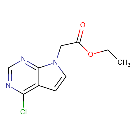 ETHYL 2-(4-CHLORO-7H-PYRROLO[2,3-D]PYRIMIDIN-7-YL)ACETATE