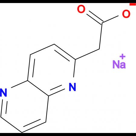 Sodium 2-(1,5-naphthyridin-2-yl)acetate